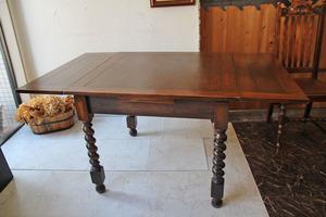 ■店頭価格¥154000■ドローリーフテーブル38・拡張テーブル ■英国アンティーク家具・西洋