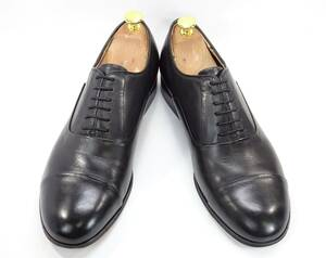 即決 SUIT SELECT 43 ストレートチップ スーツセレクト メンズ 黒 ブラック BLK 本革 ビジネスシューズ 本皮 ドレスシューズ 革靴 紳士靴