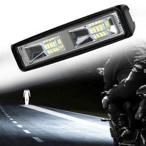 LED 作業灯 ヘッドライト オフロード アクセサリー 36W 12-24V 自動車 オートバイ トラック トラクター トレーラー スポットライト