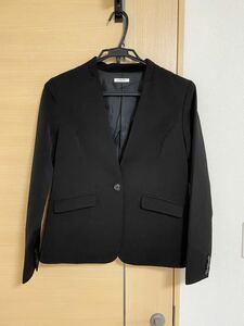 【美品】テーラードジャケット 黒