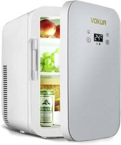 【大特価】冷温庫 10L ポータブル ミニ冷蔵庫 -9℃~65°C 温度調節可 ワンタッチ操作 LCD温度表示 保温 保冷 小型 冷蔵庫 AC/DC 2電源式