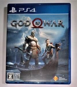 美品 GOD OF WAR ゴッド オブ ウォー PS4ソフト SONY ソニー  プレステ PlayStation プレイステーション 出品者管理番号172