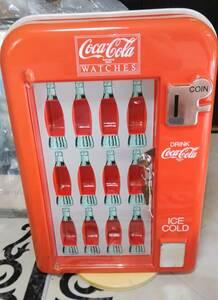 中古 超激レア コカコーラ Coca Cola WATCHES コレクター 腕時計ケース オレンジ 出品者管理番号241