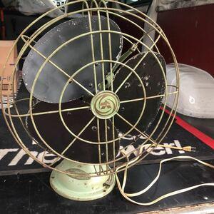 昭和レトロ 三菱 扇風機 アンティーク ヴィンテージ 実働
