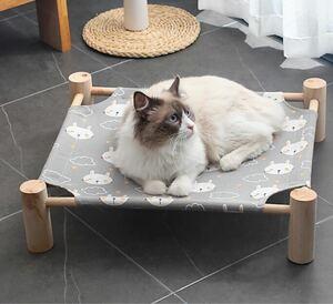 ハンモック ペット ベッド 猫 犬 小動物 簡単組み立て グレーチェック
