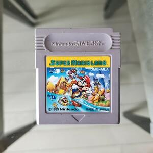 スーパーマリオランド ゲームボーイ SUPER MARIO LAND