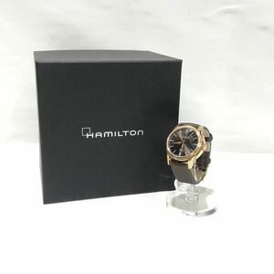 【HAMILTON】腕時計 ハミルトン ジャズマスターオートビューマティック ビューマチック 34mm 自動巻 アナログ 箱付き h323350 ts202107