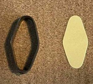 モーテルキーホルダー 5センチの抜き型 オーダーメイド レザークラフト