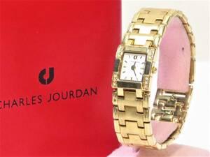 シャルルジョルダン 腕時計 レディースクオーツ CHARLES JOURDAN 18632042