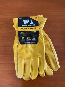 ウェルズラモント 革手袋 グローブ キャンプ アウトドア