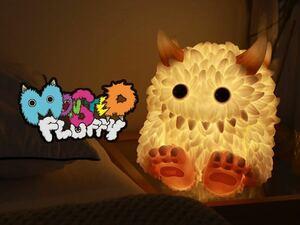 INSTINCTOY Monster Fluffy Life with Fuzzy pop mart