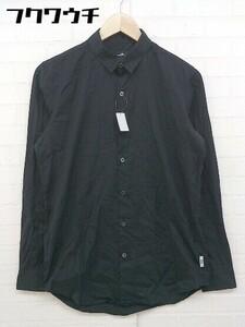 ◇ VAPORIZE ヴェイパライズ BEAMS ビームス 長袖 シャツ サイズM ブラック メンズ