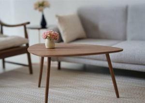 1/6 ミニチュア家具 # ドールハウス ハンドメイド ブライス/りかちゃん/BJD/momoko/フィギュア 天然木家具 胡桃の木 テーブル