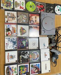 即遊べるセット!プレステ 本体 ソフト25本以上 まとめ売り PlayStation 本体起動確認済