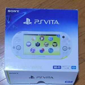 PS Vita PCH-2000 ライムグリーン ホワイト