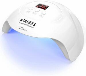 ジェルネイルライト usb式充電 UVLEDライト 36W 硬化ライト