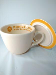 マグカップ PON DE LION 蓋付きのマグカップが似合う季節になった!
