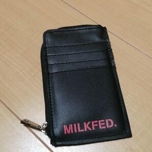 MILK FED ミルクフェド カードケース(コインケース) 雑誌付録