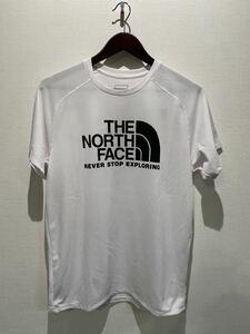 ★ ノースフェイス THE NORTH FACE GTDロゴTシャツ UVケア sizeL ホワイト 新品未使用タグ付 NT12092