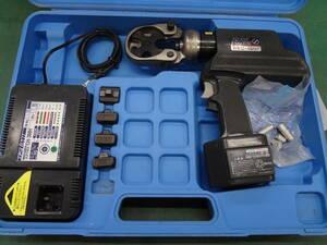■泉精器 電動油圧式圧着工具 REC-150F  IZUMI イズミ 電動油圧式工具 【1】