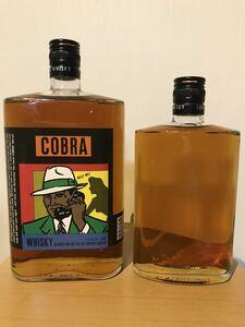 ジャパニーズウイスキー サントリー コブラ cobra 2本セット 古酒 従価 ウイスキー2級