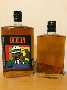 ジャパニーズウイスキー サントリー コブラ cobra 2本セット 山崎 古酒 角 スコッチウイスキー マッカラン 余市 秩父 響