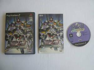 21-PS2-305 プレイステーション2 スーパーロボット大戦 Scramble Commander 動作品 プレステ2 PS2