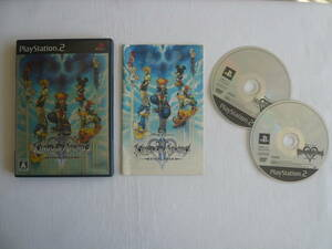21-PS2-324 プレイステーション2 キングダムハーツ2 FINAL MIX + 動作品 プレステ2 PS2