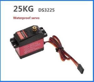 ◆最安値~◆ 1個 サイズ180° DS3225* 25kg高トルク フルメタルデジタルステアリングサーボ 防水サーボフルメタルギアバハカー