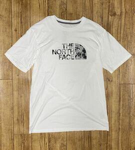 白(L) THE NORTH FACE ノースフェイスTシャツ ハーフドーム
