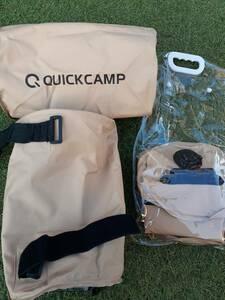 【中古】1回のみ使用 Quick Camp ポール用ウエイト