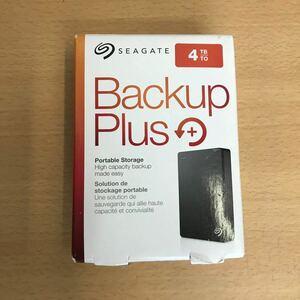 未使用*SEAGATE Backup Plus Portable HDD 4TB