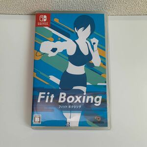 【Switch】 Fit Boxing フィットボクシング 中古