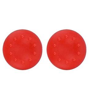 2個セット PS5等 コントローラー キャップ ジョイスティック カバー 全 赤