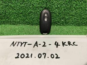 スズキ ワゴンR SUZUKI WAGON R DBA-HA25S 2010年(22年)走行距離(5.5万km)車から取り外した キーレスリモコンキー 純正