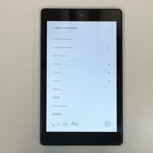 【中古】Amazon Fire HD 8 タブレット 8インチHDディスプレイ 第7世代 16GB ブラック