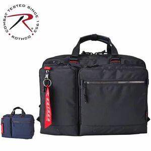 ビジネスバッグ メンズ ショルダー 45025 ROTHCO ロスコ 撥水 軽量 斜め掛け 肩掛け A4 B5 PC タブレット収納 【送料無料】 ブラック