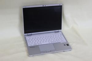 ジャンク品ノートパソコン Panasonic Let's note CF-RZ4 CORE M メモリ4GB HDD不明 10.1inchワイド カメラ 通電確認済 代引き可