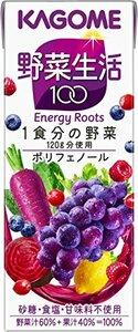 200ml×24本 カゴメ 野菜生活100 ベリーサラダ 200ml&24本