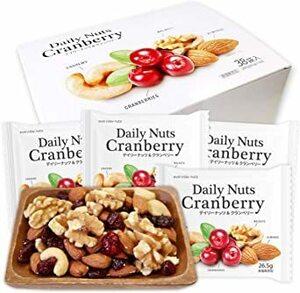 個包装 小分け ミックスナッツ&ドライフルーツ 1007g (26.5gx38袋) Daily nuts Cranber