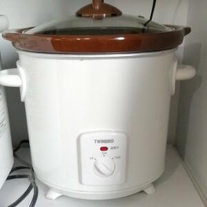ツインバード 電気調理鍋 (3.0L) EP-D819W ブラウン