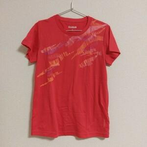リーボック Reebok レディース 半袖Tシャツ スポーツウェア L