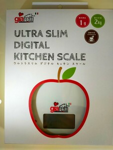 ultra slim digital kitchen scale    GR-9620 キッチンスケーラ