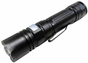 【2021年 最新高輝度 進化版】懐中電灯 LED 強力ハンディライト ペンライト 超高輝度 6500ルーメン 軽量小型 ズーム式5モード調光