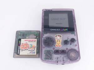 Nintendo GAME BOY COLOR/任天堂 ゲームボーイ カラー(CGB-001) ソフト1本 動作品