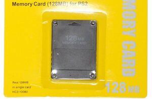 PS2 メモリーカード 128MB PlayStation 2 専用 プレステ2 互換品
