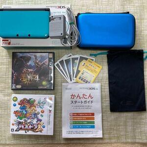 任天堂 ニンテンドー 3DS LL 本体 ケース ソフト