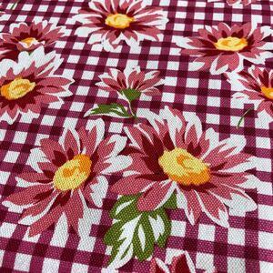 オックスプリント 花柄 生地幅×90