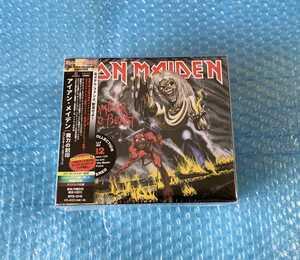 新品限定国内盤 Iron Maiden「魔力の刻印 コレクターズエディション」アイアンメイデン