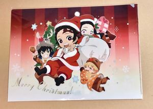 ufotable cafe 鬼滅の刃 鬼滅カフェ クリスマス 2019 クリアファイル